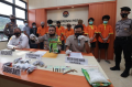 Ditresnarkoba Polda Kepri Amankan 1 Kg Sabu dan Sepucuk Senpi