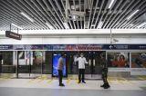 Presiden Cek Kesiapan Prosedur New Normal di Stasiun MRT