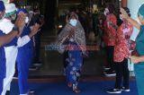 Pasien Sembuh Corona di Surabaya Terus Meningkat