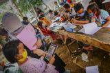 Fasilitas Belajar Daring Terbatas, Warga Dirikan Balla Pendidikan