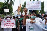 Demo Penolakan RUU HIP Meluas Hingga Makassar