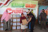 KAMAP Undip Salurkan Bantuan Warga Bedeng Terdampak COVID-19