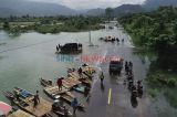 Banjir Sebabkan Jalan Trans Sulawesi Putus di Konawe Utara