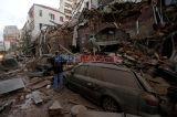 Kota Beirut Luluh Lantak Akibat Ledakan Dahsyat
