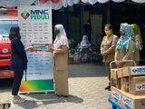 MNC Peduli Salurkan Makanan dan Minuman Ringan ke 5 Puskesmas di Jakarta Selatan