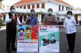 Wartawan dan BPBD Jatim Sosialisasikan Protokol Kesehatan Covid-19