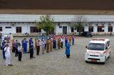 Shalat Jenazah Dokter Spesialis Paru Positif Covid-19 di Aceh