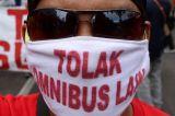 Getol Jawa Timur Desak Pemerintah Batalkan UU Omnibus Law