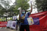 Nasabah AJB Bumiputera Gelar Aksi Desak Pembayaran Klaim Polis