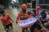 Luapan Kali Cikeas, Ratusan Rumah di Jatirasa Bekasi Terendam Banjir