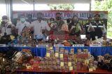 Ditresnarkoba Polda Jateng Musnahkan 23.086 Jamu Tradisional Ilegal di Krematorium Semarang