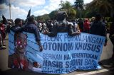 Mahasiswa Papua Gelar Aksi Tolak Perpanjangan Otonomi Khusus