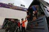 TNI AL Kerahkan KRI Banda Aceh-592 Kirim Bantuan Korban Bencana Alam
