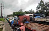 Pasca Penembakan di Kafe Cengkareng, Lalu Lintas Sepanjang Daan Mogot Lumpuh