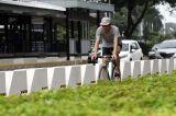 Minim Sosialisasi, Penggunaan Jalur Permanen Pesepeda di Kawasan Sudirman Belum Maksimal