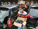 Polisi Bawa Dua Kardus Usai Olah TKP Penembakan dari RM Cafe