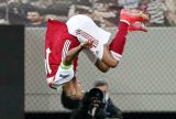 Gol Penyelamat Aubameyang Bawa The Gunners ke-16 Besar Liga Europa
