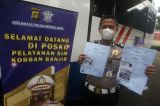 Ditlantas Polda Metro Jaya Layani Pembuatan SIM untuk Korban Banjir Jakarta