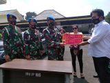 Denpom TNI Serahkan Wanita Cantik Pamer Mobil Berpelat TNI Bodong ke Polrestabes Bandung