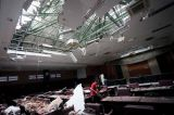 Gempa Malang Akibatkan Atap Gedung DPRD Kabupaten Blitar Ambruk