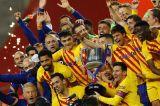 Hancurkan Athletic Bilbao 4-0, Barcelona Juarai Copa del Rey