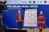 Kolaborasi BPTJ-Kemenkes Kampanye Program Jalan Hijau Achievement Award 2021