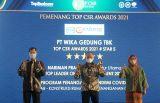 WEGE Raih Penghargaan Terbaik Top CSR Award 2021