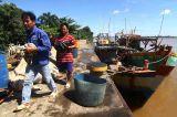 Kapal Vietnam Pemburu Teripang Ditangkap