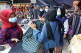 H-4 Pasar Tanah Abang Masih Ramai Pengunjung