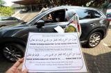 Layanan Zakat Fitrah Drive Thru di Masjid Raya Nurul Hidayah Jakarta