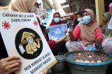 Sisir Kampung Nelayan, Mahasiswa UMSurabaya Sosialisasi Bahaya Covid-19