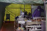Ruang Isolasi Penuh, Tiga Pasien Covid-19 Dirawat di Tenda Darurat