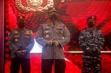 Kapolri Jendral Listyo Sigit Tinjau Vaksinasi Covid-19 di JCC Senayan