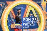 Pernak-pernik PON Papua di Mimika