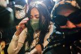 Diperiksa Polisi, Selebgram Rachel Vennya Bungkam Saat Tiba di Polda Metro Jaya