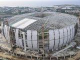 Melihat Kemegahan Jakarta International Stadium dari Potret Udara