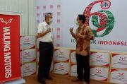 Wuling Persenjatai Ikatan Dokter Indonesia dengan 1.000 Set APD