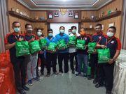 BMCI Salurkan Bantuan Sembako ke Masyarakat Probolinggo