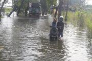 34 Desa di Gresik Terendam Banjir Bengawan Solo dan Kali Lamong