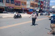 Beradu dengan Mobil, Seorang Pengendara Motor Meninggal