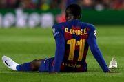 Berbeda dengan Pemain Barcelona Lainnya, Dembele Jadi Kasat Mata Selama Karantina