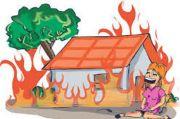 Rumah Terbakar saat Tidur Pulas, Penghuni Tewas Terpanggang