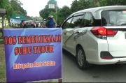 Perbatasan Aceh Selatan Diperketat, Pengendara Dicek Suhu Tubuh