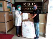 PSSI Pers Salurkan Bantuan untuk RSUD Tangerang Selatan