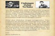 Bhima Yudhistira Tantang Debat Stafsus Presiden Belva Davara