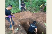 Kapolresta Manado Ikut Gali Pemakaman Jenazah Pasien COVID-19