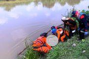 Jasad Rizki Terseret Arus Irigasi Citarum Timur Sejauh 20 Km