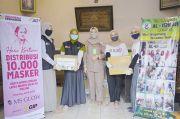 MS Glow dan ACT Berdayakan Warga Binaan Produksi 10.000 Masker
