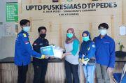Mahasiswa UBP Karawang Sumbang APD untuk 27 Puskesmas