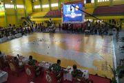 Kapolda, Pangdam dan Gubernur Sumut Gelar Simulasi Sispamkota COVID-19